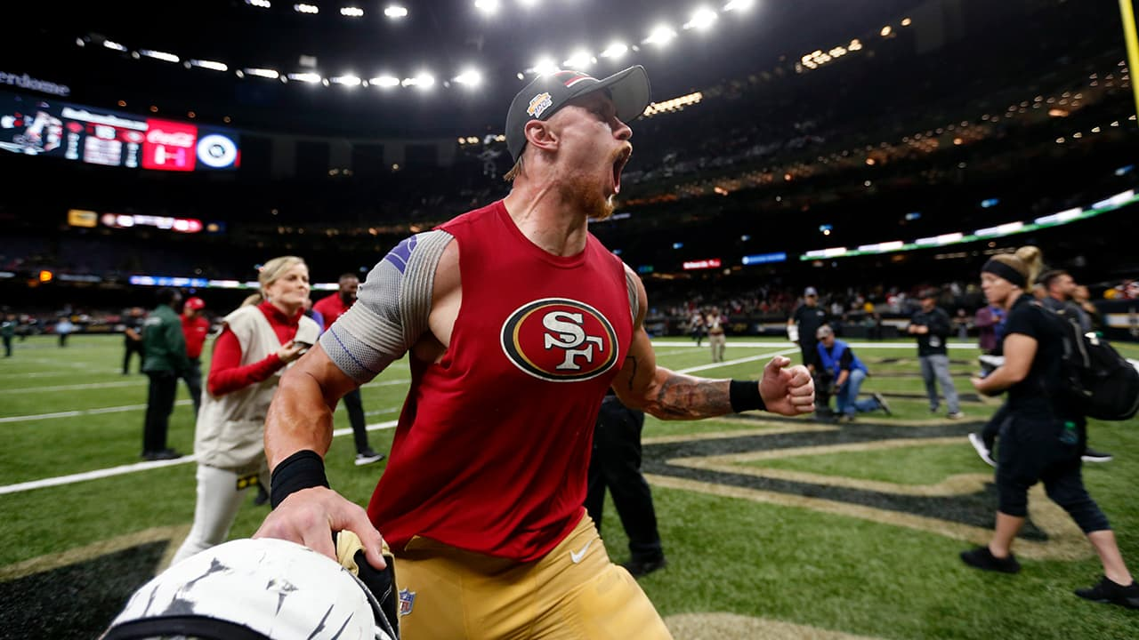 Photo of 49ers tight end George Kittle