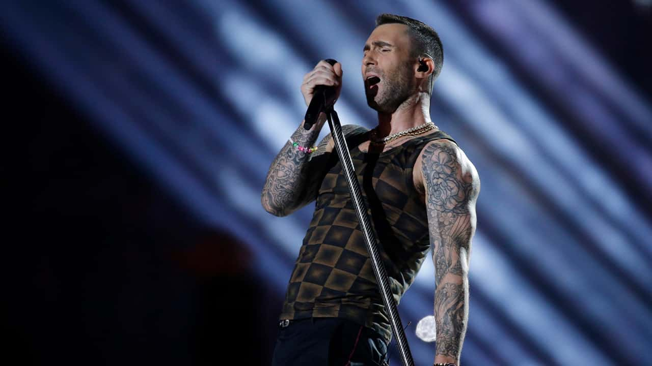 Photo of Adam Levine of Maroon 5
