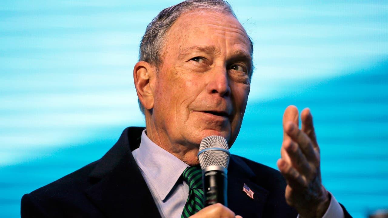 Photo of Michael Bloomberg