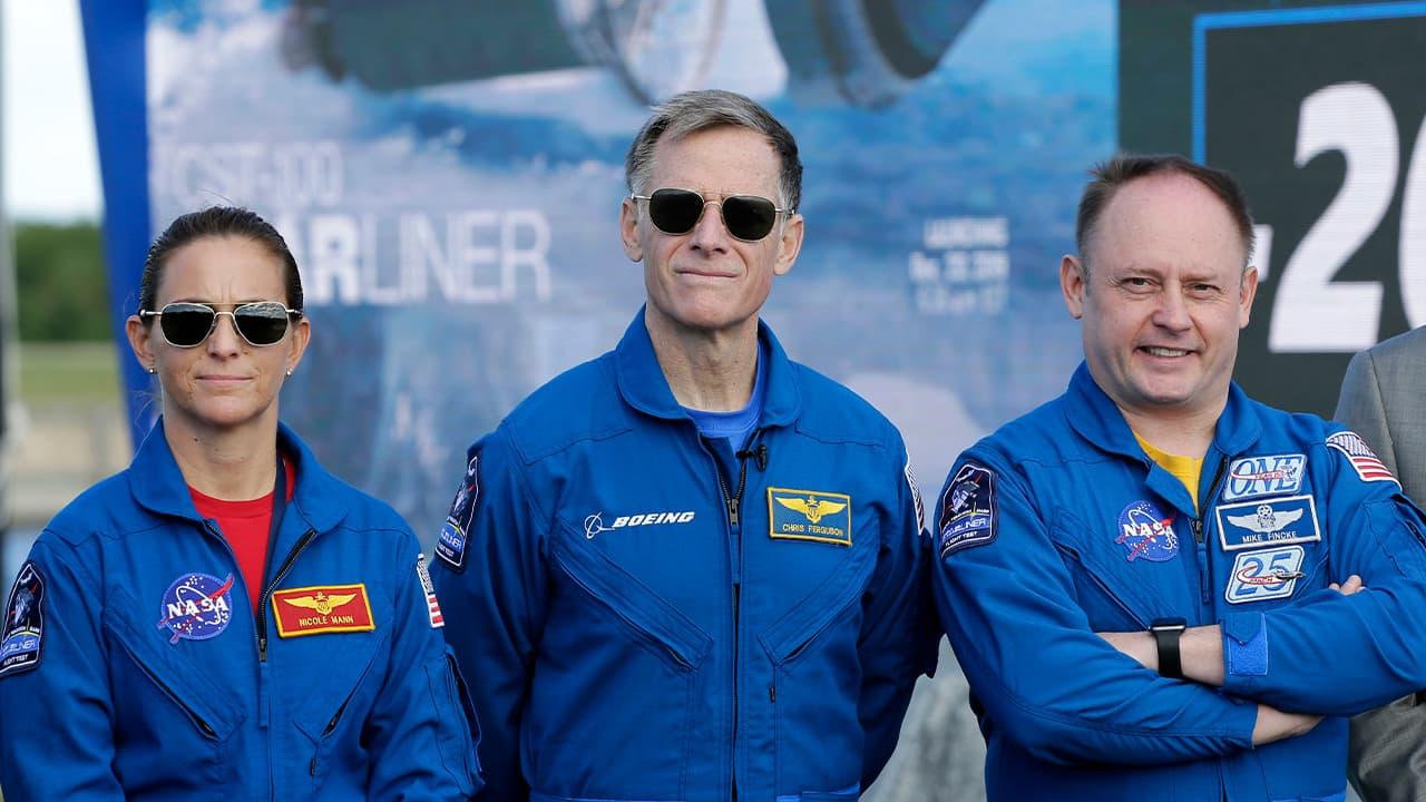 Photo of NASA astronauts