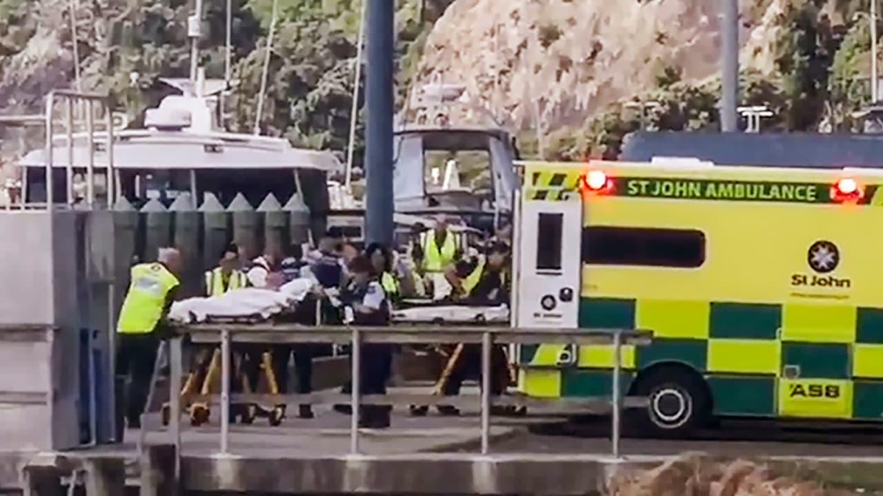 Photo of New Zealand ambulances