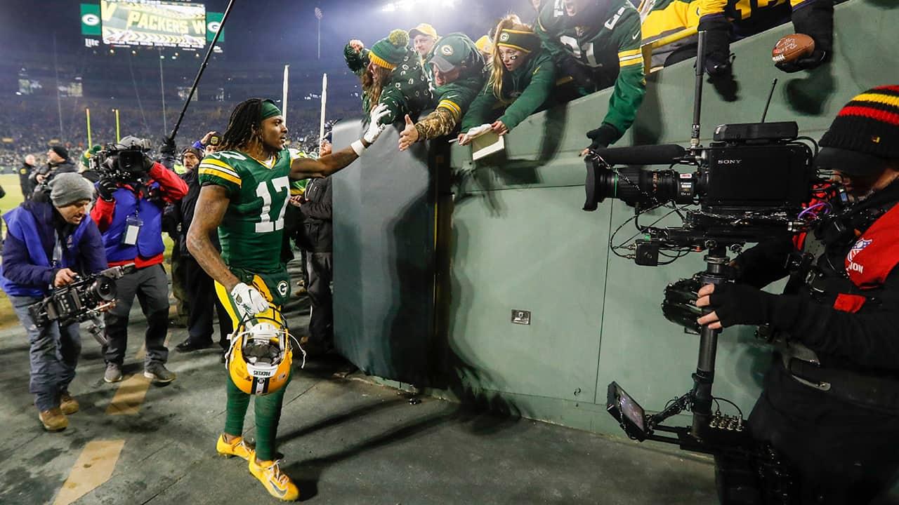 Photo of Green Bay Packers' Davante Adams