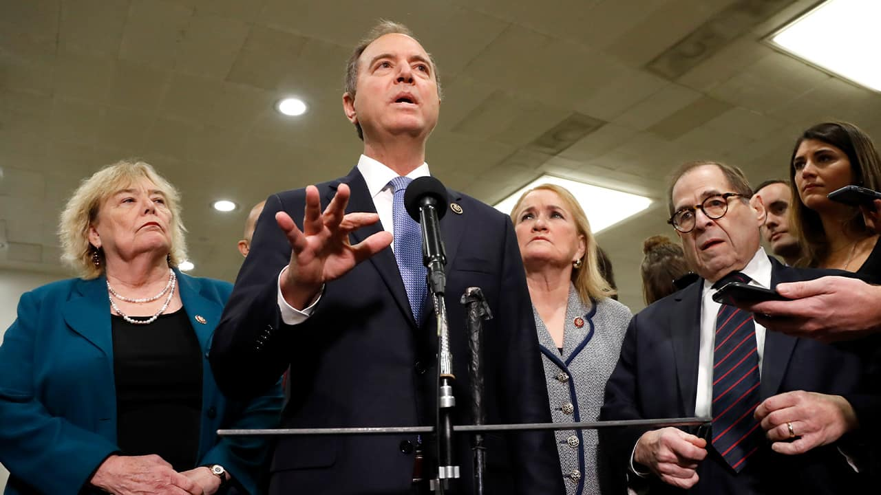 House impeachment manager Rep. Adam Schiff