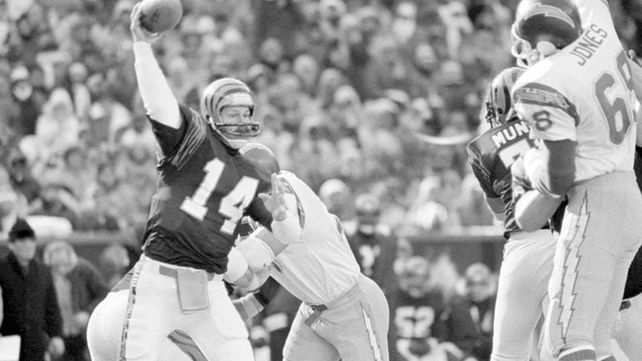 Photo of Cincinnati Bengals quarterback Ken Anderson