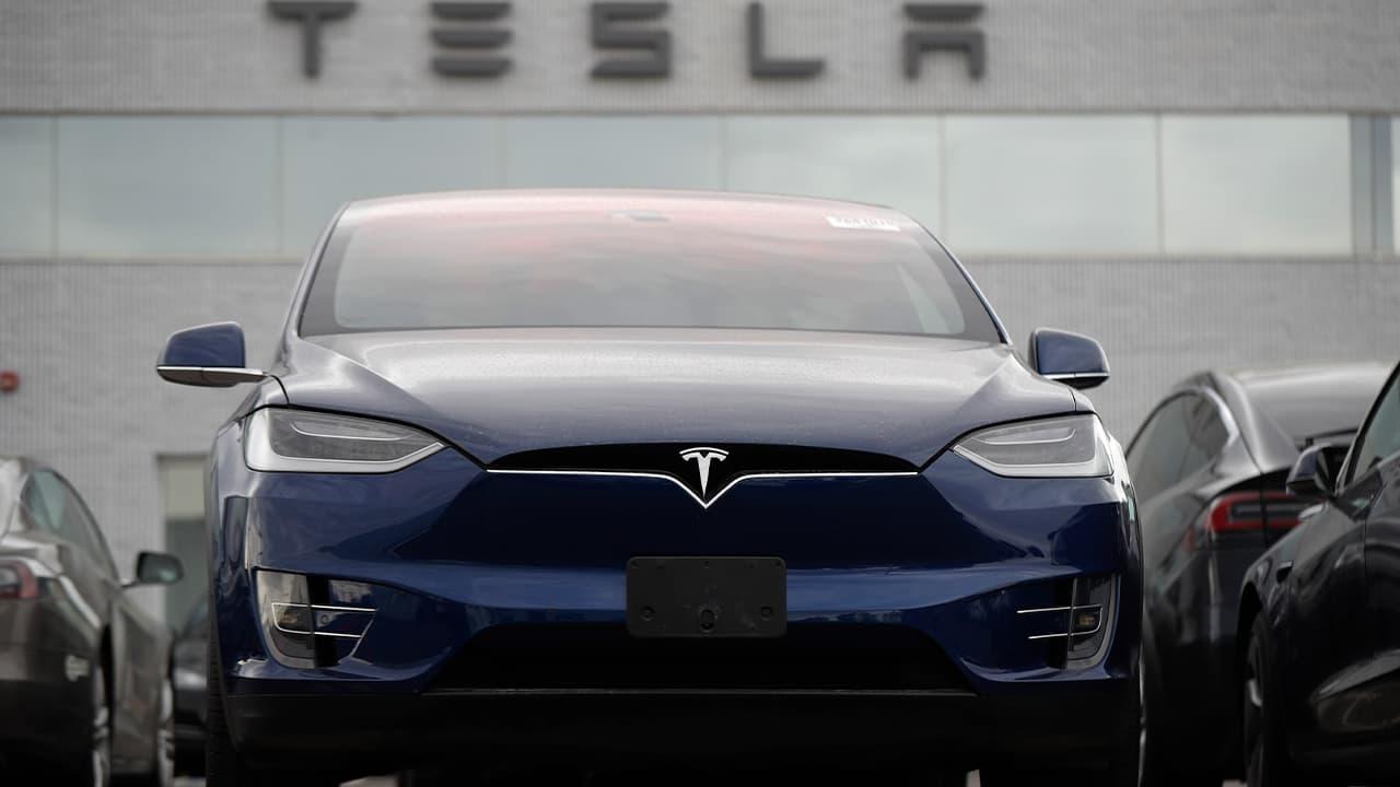 Photo of a Tesla Model X
