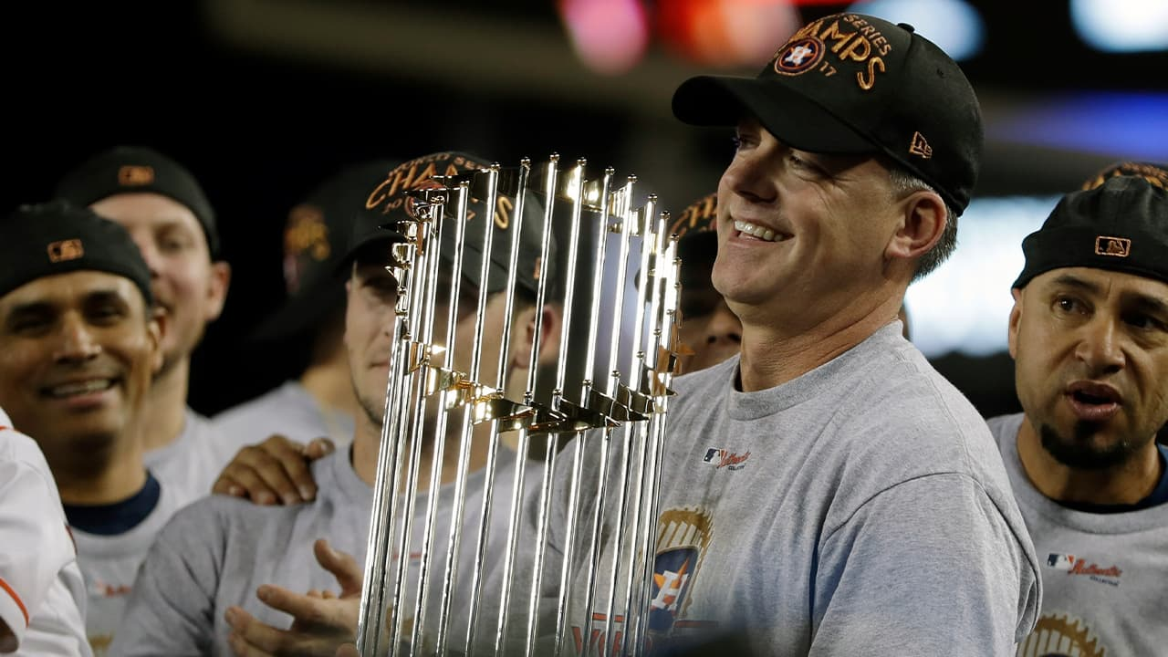 Photo of Houston Astros manager A.J. Hinch
