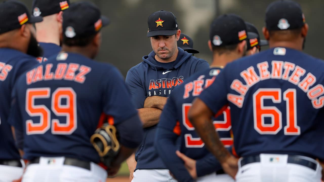 Photo of Houston Astros pitcher Justin Verlander