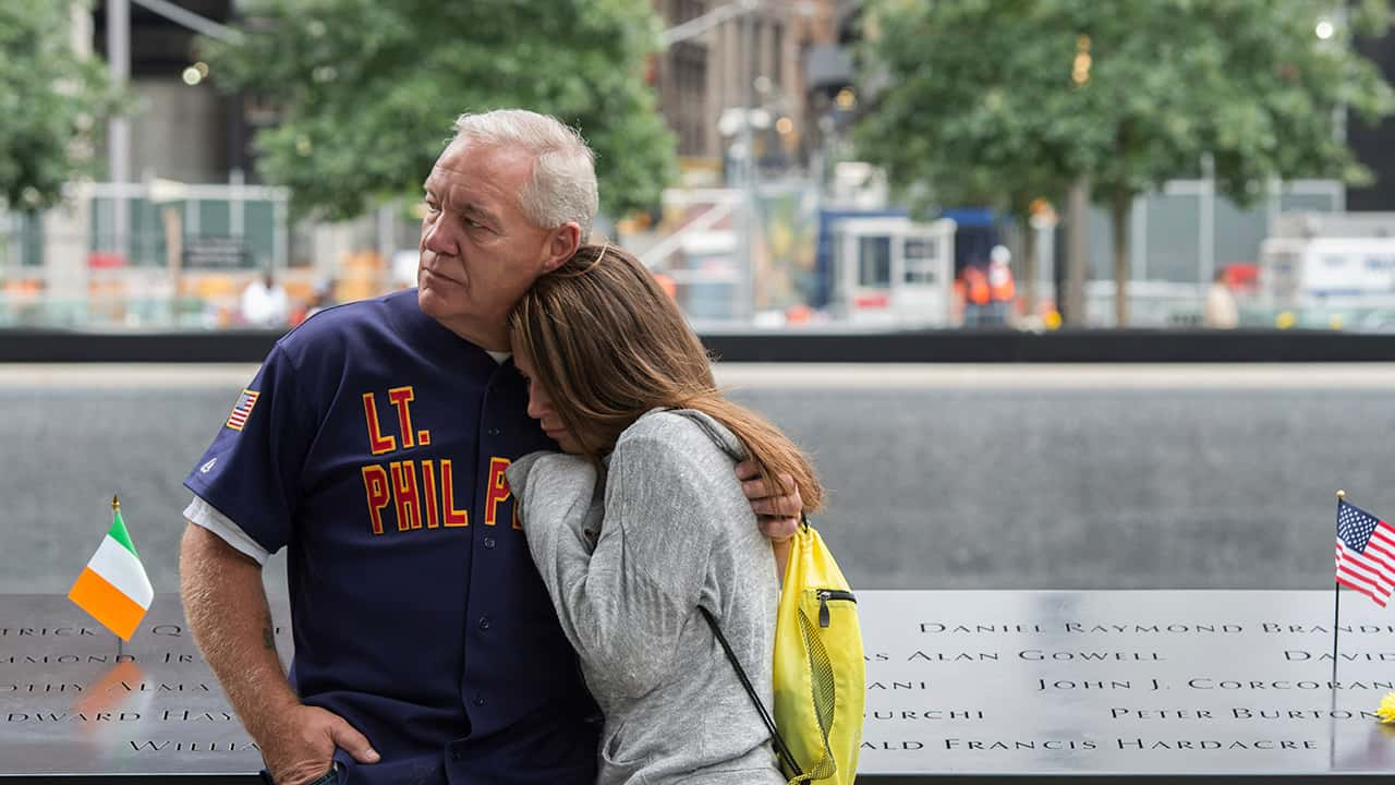 Photo of 9/11 victims' family members