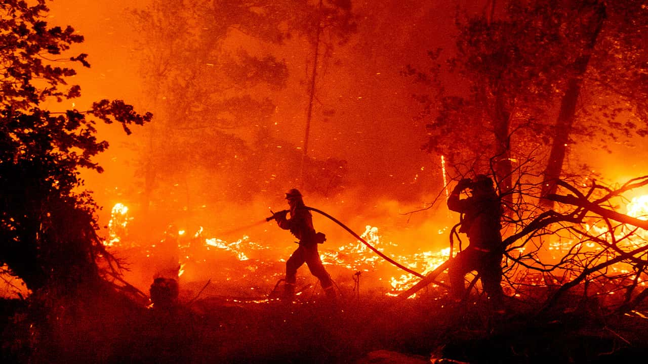 Photo of the Creek Fire